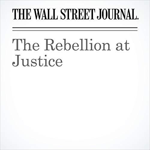 The Rebellion at Justice copertina