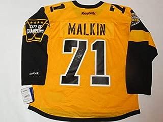 Evgeni Malkin Autographed Signed Pittsburgh Penguin 2017 Stadium Series Jersey JSA