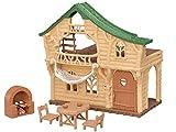 Sylvanian Families - Les Vacances - Le Chalet du Lac - 5451 - Maison de Poupée - Mini Poupées