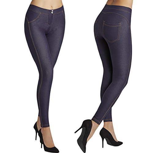 YSABEL MORA - Legging Jeans Push UP Mujer