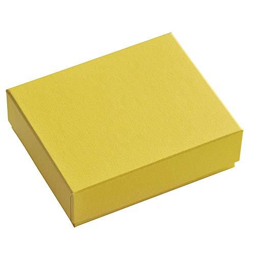 だいし屋 日本製 36色のギフトボックス〈24.もえぎ〉92×72×28mm (白スポンジ入り, 1個) B151