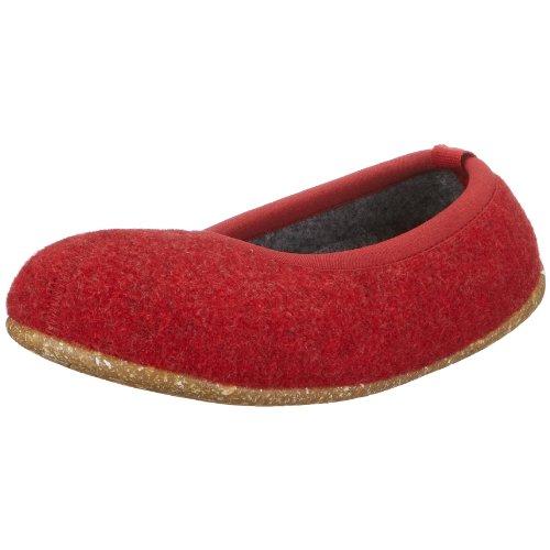 CAMPER, Wabi Damen Hausschuhe 21285-004, Filz EU 35 rot (Tweed Rojo-Gris/Estufeta Remiel)