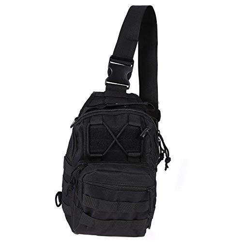 600D Outdoor Bag Tactical Bags Backpack Shoulder Camping Hiking Bag Camouflage Backpack,Black,Other