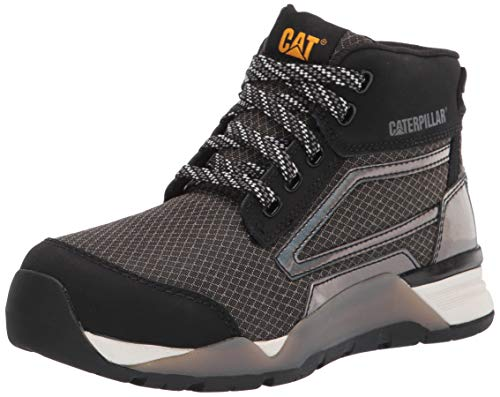 Caterpillar womens Sprint Mid Alloy Toe Sneaker, Black, 8 US