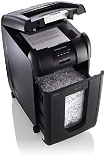Rexel Auto Feed 300X 300 Sheet Cross Cut Shredder for Small Office Use (Up To 10 Users), 40L Removable Bin, Includes Shred...