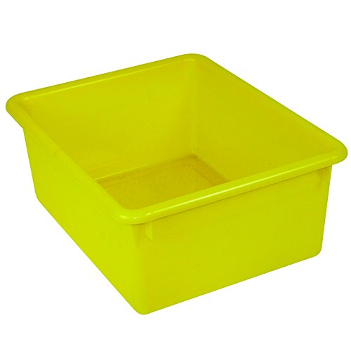 5IN STOWAWAY LETTER BOX YELLOW NO