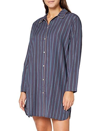Triumph Damen NDW Boyfriend Nachthemd, GREY COMBINATION, 38
