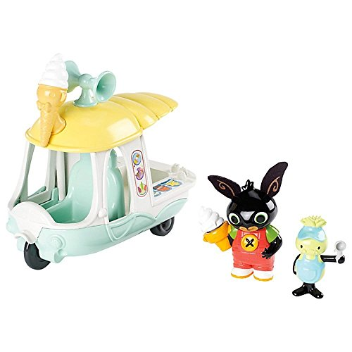 Bing Vehicle & Figure Set - di Gilly Ice Cream Van