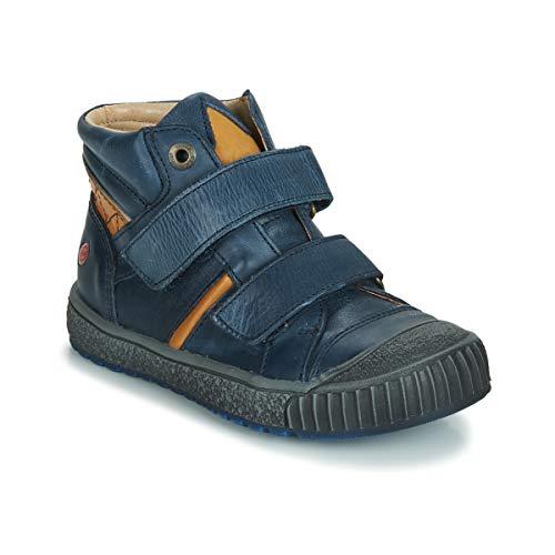 GBB RAIFORT Sneakers jongens Marine/Oker Hoge sneakers