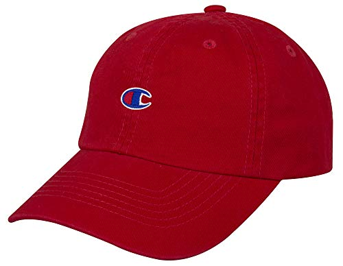 Champion Ameritage Dad Adjustable Cap, medium red, One Size