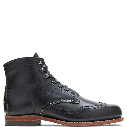 Image of Wolverine Men's Addison 1000 Mile Wingtip Boot (12 D(M) US) Black