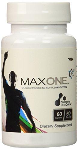 Max One, Focused Riboceine Supplementation, 60 Vegetable Capsules, 60 Servings