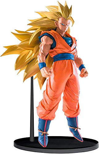 Dragonball Z Kai Anime Super Saiyajin 3 Son Goku DBZ Super Saiyan Goku SSJ3 Statue Skulptur Actionfigur Sammelfigur Figur | 20 cm