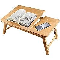 hancook 100% Bamboo Nature Portable Laptop Desk with Folding Legs