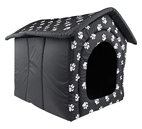 Woofery - Hundehaus Hundehöhle Tiana - Grau XL 70 x 60 x 63 cm