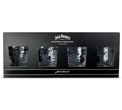 Jack Daniels Trinkgläser, 4 Stück