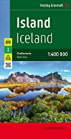 Iceland Road Map 1:400 000 (Country Road & Touring)