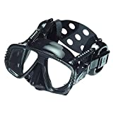 ME55-BSVAR - Mascara gafas buceo con orejeras silicona PRO EAR COLOR...