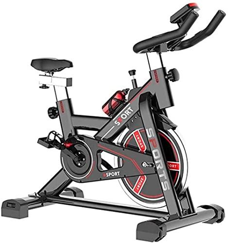 Bicicletas de ejercicio para interiores y ciclismo, bicicleta estática eléctrica para caminar en casa Fitness y ejercicio con asiento ajustable para