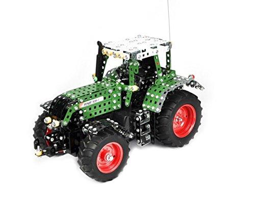 Tronico 10070 - Metallbaukasten Traktor Fendt 939 Vario mit Fernsteuerung, Profi Serie, Maßstab 1:16, 790-teilig, grün*