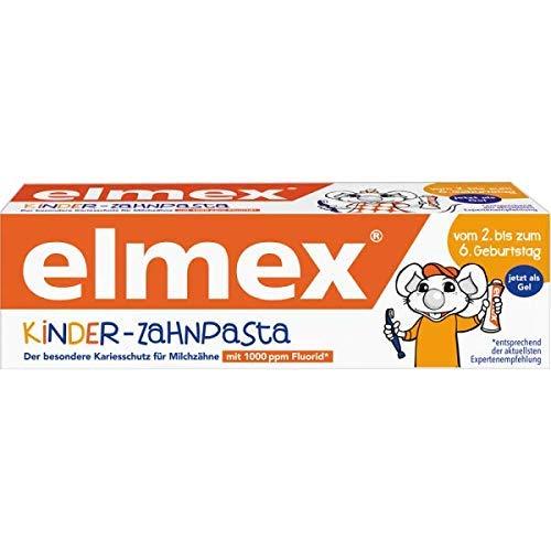 elmex Kinder Zahnpasta, 2er Pack (2 x 50 ml)