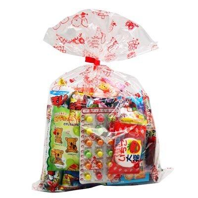 クリスマス袋 480円 お菓子 詰め合わせ (Aセット) 駄菓子 袋詰め おかしのマーチ
