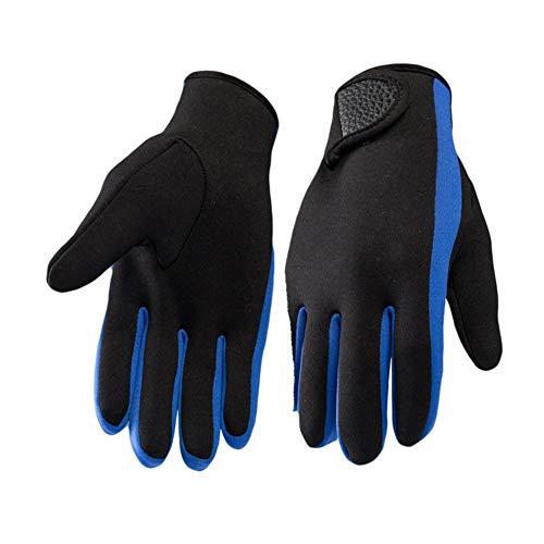 Gyratedream Damen Herren Schwimmhandschuhe rutschfeste Schnorchelhandschuhe Surfhandschuhe Verstellbare Schwimmhandschuhe Warme Handschuhe Tauchzubehör