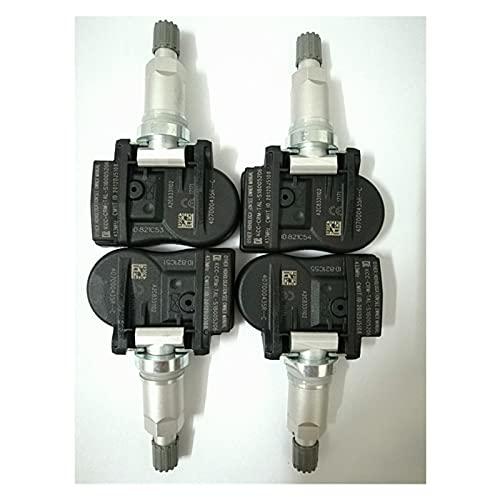 ZHENRONG Gdong Store 4 unids Necesitan Sensor de presión de neumáticos OBD 433MHZ 40700-0435R 407003743R Ajuste para Renault Megane para Laguna Fluence Fit for Latitude 407000435R