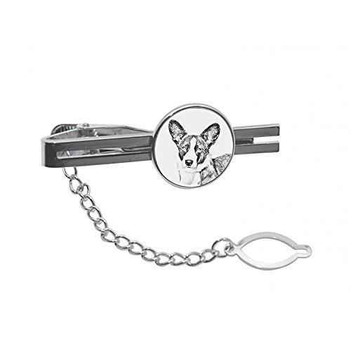 ArtDog Ltd. Waliser Corgi Cardigan, Krawatte, Stift, Klammer mit Einem Bild eines Hundes, elegant und lässig Stil