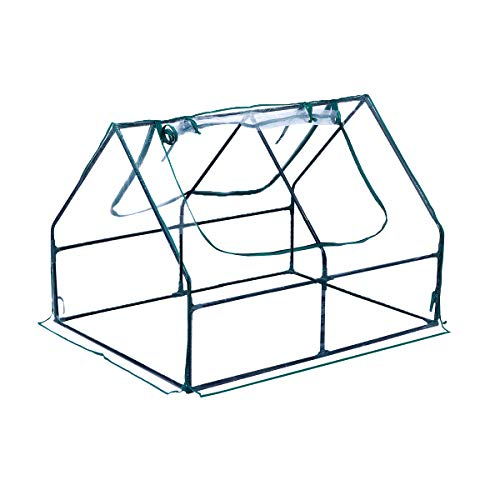 """TOOCA Waterproof Greenhouse 48""""×36""""×36"""" Portable Mini Greenhouses for Outdoors Indoors Sturdy Structure Good Partner for Raised Garden Bed"""