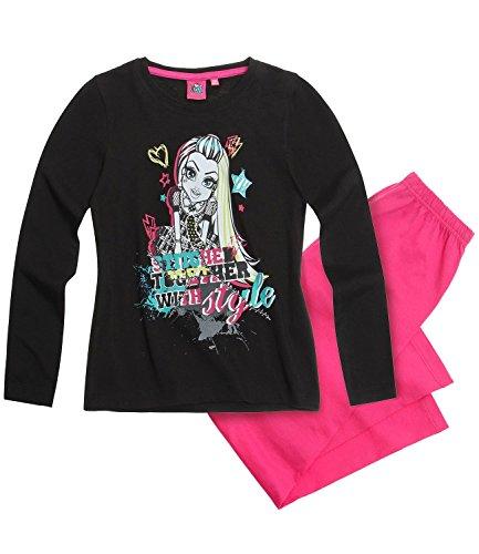 Monster High Schlafanzug 3 Variationen (140, pink)
