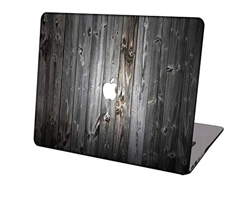 Laptop Case for MacBook Air 13 inch Model A1369/A466,Neo-wows Plastic Ultra Slim Light Hard Shell Cover Compatible MacBook Air 13 Inch No Touch ID,Wood grain A 176