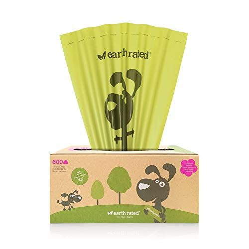 Earth Rated PoopBags Pantry Pack 600 Scented Bags