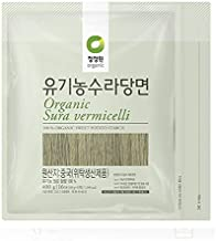 Chung Jung One Organic Sura vermicelli Sweet Potato Glass Noodle 14.10 oz(Pack of 1)