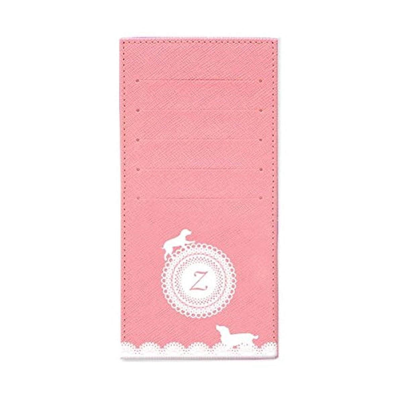 雲セージ喜ぶインナーカードケース 長財布用カードケース 10枚収納可能 カード入れ 収納 プレゼント ギフト 3030レースネーム (Z) パウダーピンク mirai