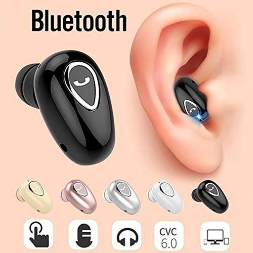 Olodui1 Mini Auriculares inalámbricos estéreo Bluetooth Deportivos con Compartimento de Carga Auriculares