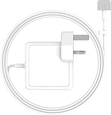 "MARVELLER Compatible With Pro Charger 85W Magsafe 2 Power Adapter For Mac PRO Retina 13"" 15"" 17""-Inch, Mid 2012, 2013, 2014, Mid 2015 Mac Retina Display Works With 45W&60W&85W"