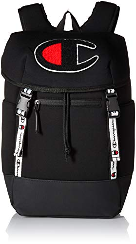 Champion Men's Top Load Backpack, Black, One Size