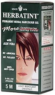 Herbatint Permanent Herbal Haircolour Gel 5M Light Mahogany Chestnut - 135 Ml