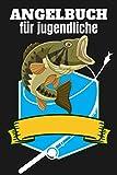 Angelbuch für jugendliche: Fischjournal und Fischlogbuch zum Protokollieren und Aufzeichnen Ihrer Angelabenteuer für Kinder, um während Ihrer Angelstunden Aufzeichnungen oder Notizen zu fangen.