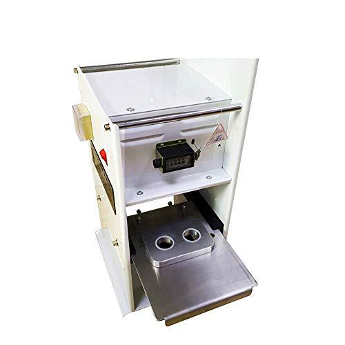 Amazing Deal JIAWANSHUN Aluminum Coffee Capsule Sealing machine Manual Coffee Capsule Sealer for 30m...