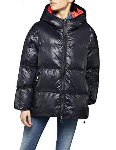 Replay Damen W7494 .000.83408 Jacke, Schwarz (Black 98), Medium (Herstellergröße: M)