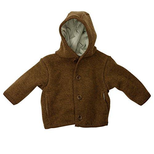 Disana Disana 32305XX - Walk-Jacke Wolle haselnuß, Size / Größe:62/68 (3-6 Monate)