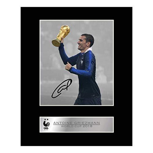 Foto firmada por Antoine Griezmann Copa del Mundo de Francia #2