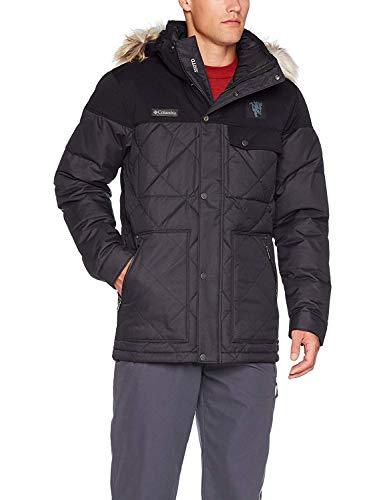 Columbia Hombres de Barlow Pass 550Turbo Down Jacket, Hombre, Color Mu-Black, tamaño...