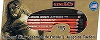 General Pencil チャコールキット 12ピース - 4パック