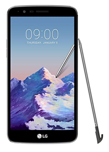 LG Stylus 3 Smartphone desbloqueado, marrón claro, gris, (Titan Gray)