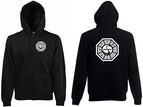 world-of-shirt Herren Kapuzenjacke Lost Dharma Initiative