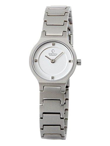 Obaku Denmark V133SCISC - Reloj de pulsera para mujer con correa de metal