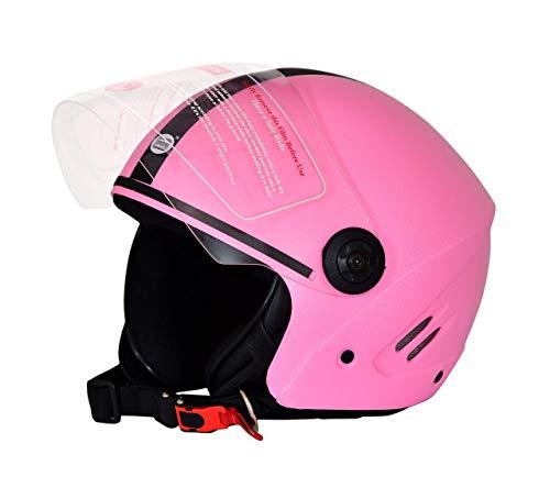 Dass Getz (ISI) Open Face Helmet (Pink,L)